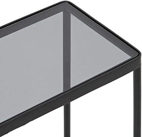 Outlet Saladplates-LXM bijzettafel, sofa eind, tafel, vintage-tafel met opbergvak voor thuis, kantoor, slaapkamer, hal, woonkamer, balkon, 45 x 23 x 70 cm  6wZhlBk