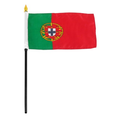 US Flag Store Portugal Flag, 4 by 6-Inch