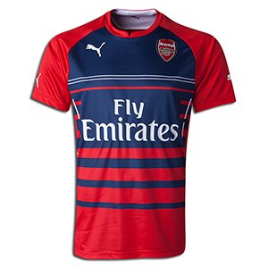 (Puma AFC Pre-Match Jersey, High Risk Red, Small)