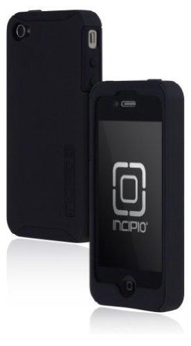 Incipio Silicone Silicrylic (Incipio iPhone 4/4S SILICRYLIC Hard Shell Case with Silicone Core - 1 Pack - Carrying Case - Black/Black)
