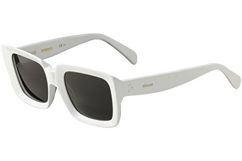 Sunglasses Celine Cl 41449 /S 0VK6 White / IR gray blue - White Sunglasses Celine