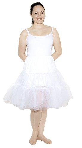 White Crinoline Slip size Adult Medium / Large by Hey Viv !