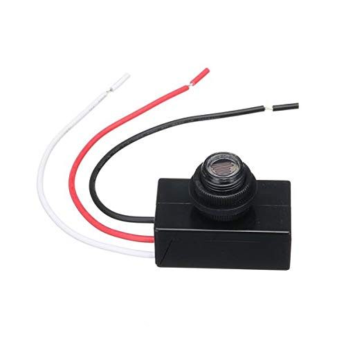 80V-277V 110V 220V Mini Photoelectric Switch Photocell Dusk To Dawn Automatic Lamp Switching Sensor LED Control Switch Optical Control Switch Saving Energy Safe And Reliable - Arduino Compatible SCM ()