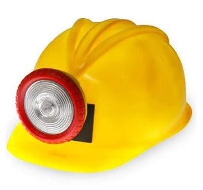 J17397 Costume Miners Hard Hat With Light]()