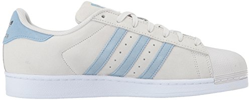 Adidas Men's Superstar Originals Casual Shoe Pearl Grey/Tactile Blue/Tactile Blue discount 2015 new cheap sale brand new unisex really cheap shoes online new arrival online H6afJBEhB