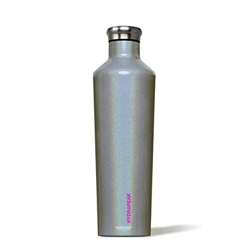 (Hydrapeak Enchanted Collection Water Bottle Vacuum Insulated Double Wall Leak Proof Stainless Steel Thermos (Cosmic Grey,)