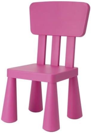 Ikea – Silla infantil Mammut Niños Muebles Silla en color rosa muy ...