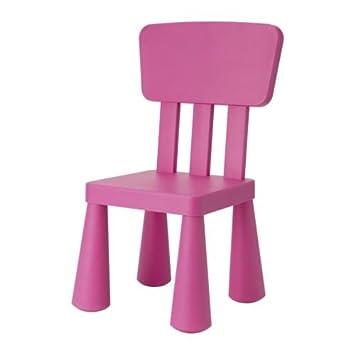 Ikea Sedia per Bambini mammut Mobili per bambini sedia in Pink Rosa ...