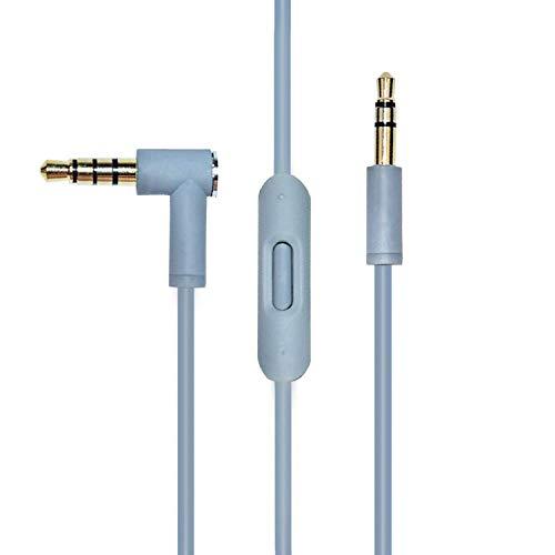 Cable de audio de repuesto con micrófono by Dr Dre Pro