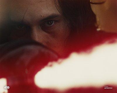 Star Wars Authentics Adam Driver as Kylo Ren in 'Star Wars: The Last Jedi' 16x20 Photo