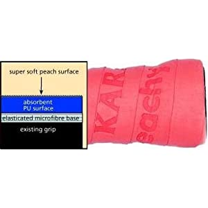 Karakal Peachy 6 Overwrap, 3 pack Asst. Colors