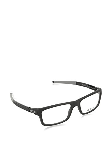 37de3cfa1c6 Oakley Currency Eyeglasses OX8026-1354  Satin Black Frame Grey Icon   Ear  Socks