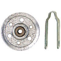 Stanley National S730-720 4'' Garage Door Hot Dipped Galvanized Pulley & Fork by Stanley