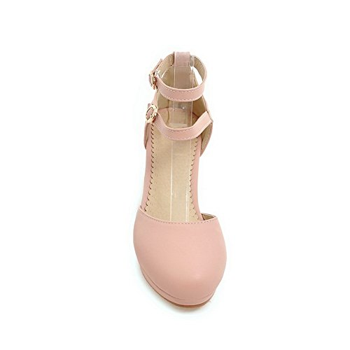 AN Womens Waterproof Dress Non-Marking Urethane Sandals DIU00950 Pink Xa98K