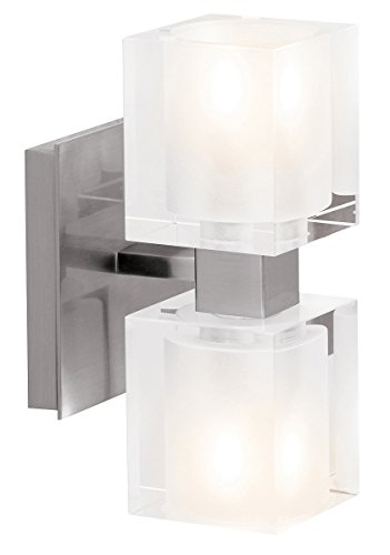 access-lighting-23906-bs-fcl-astor-two-light-brushed-steel-finish-vanity-frosted-clear