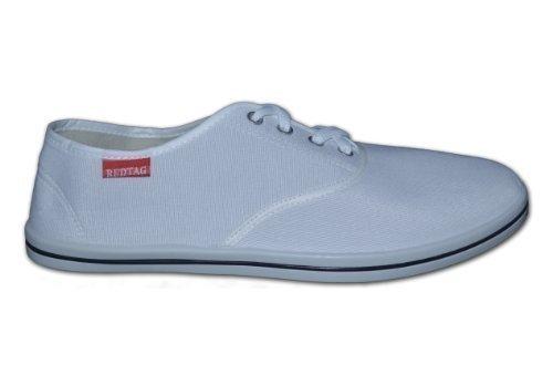 Red Tag , Herren Sneaker, Weiß - weiß - Größe: 6 UK