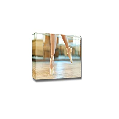 Canvas Prints Wall Art - Beautiful Legs of a Dancer in Pointe - 16