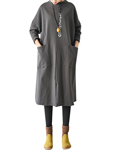 Autumn Women's 1 Pockets Printed Youlee Estilo Hoodie With ApUqqfWv