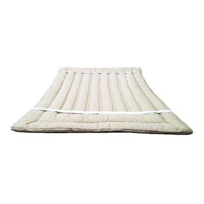 Organic Merino Wool Mattress Topper Size: King by Sleep & Beyond