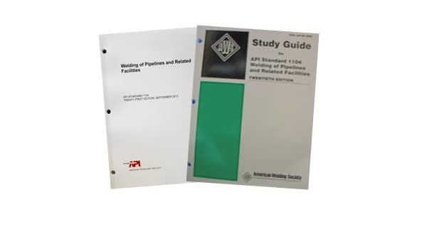 Study guide for api 1104 all flashcards for cwi exam array amazon com api 1104 code u0026 study guide combo everything else rh amazon fandeluxe Choice Image