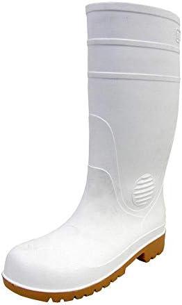 ZODYセーフティ01 鋼鉄製先芯入り耐油長靴 メンズ ホワイト 26.5 cm