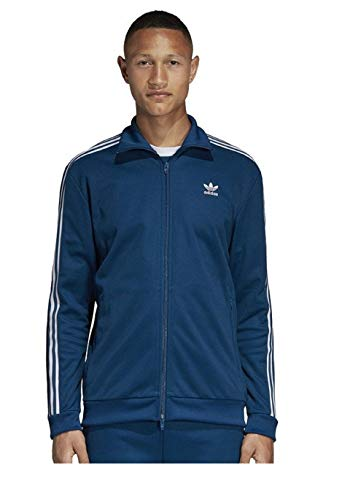 adidas Originals Men's Franz Beckenbauer Track Top Legend Marine Medium