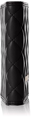 Love Moschino Damen Portafogli Nappa Pu Nero Clutch, schwarz (Black), 1 x 14 x 10 cm