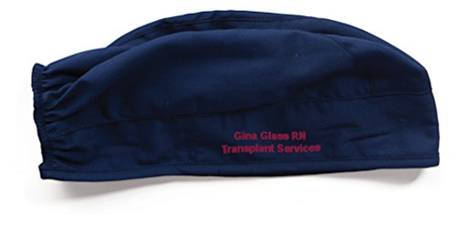 Embroidered Cherokee 2506 Adult's Unisex Scrub Hat - One Size (Navy)