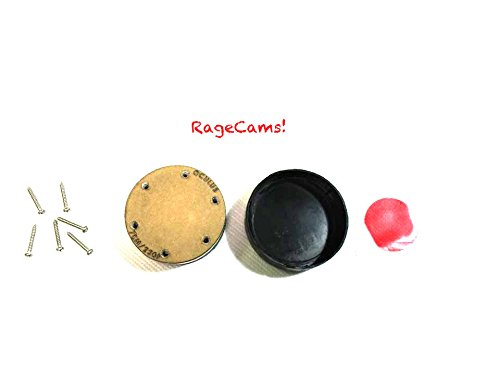 RageCams Flat Lens Oculus Blur Fix Red Filter for GoPro Hero1 & Hero2 by Oculus