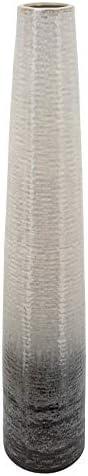 Sagebrook Home 39″ H Textured 2-Tone Vase