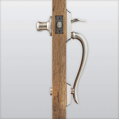 Kwikset 98150-001 Avalon Exterior Handle Only with Tustin Right-Handed and Left-Handed Levers in Venetian Bronze by Kwikset (Image #5)