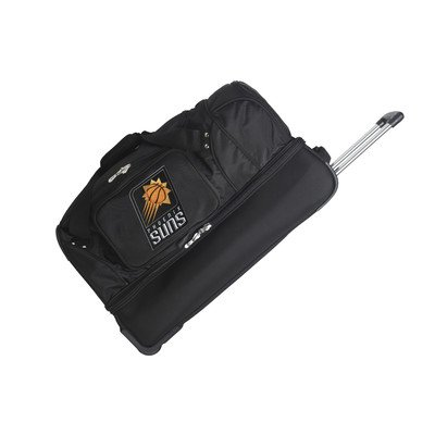 NBA 27'' 2-Wheeled Travel Duffel NBA Team: Phoenix Suns by Denco Sports Luggage