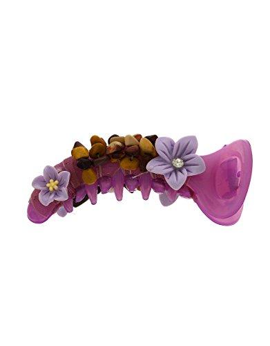 Anuradha Art Violet Colour Very pretty Adorable Hair Accessories Banana Clip & Pin For Women/Girls by Anuradha Art
