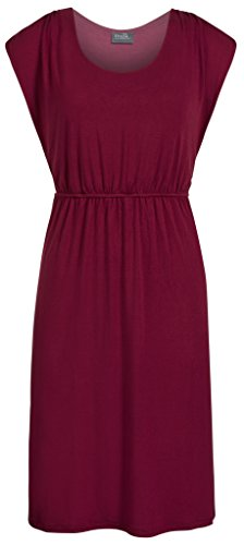 Milk Nursingwear Favorite Nursing Dress, Merlot, M