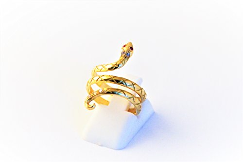 aafe89cef29 bague serpent or jaune 18 carats 750 1000 Gold -citroen-garage-pichon.fr