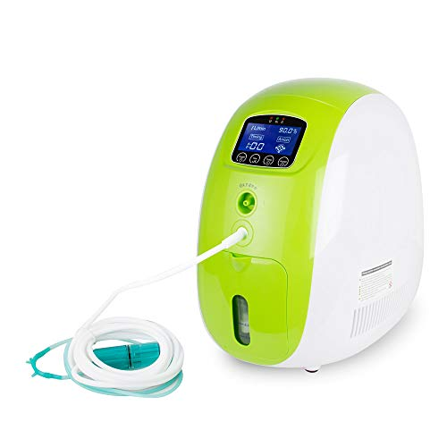 1L-5L Adjustable Portable Full Intelligent Home Oxy-gen Con-cen-trator Generator Work