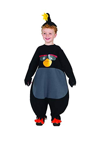Rubie's Baby Angry Birds Movie Bomb Romper Costume, Multi, Toddler 2T -