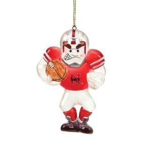 Nebraska Acrylic Football Player -