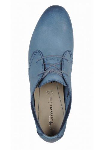 Tamaris 23204-22 Klassische Halbschuhe Leder Blau