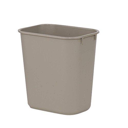 Wastebasket, Small, Beige, 3 (Gal Wastebasket)