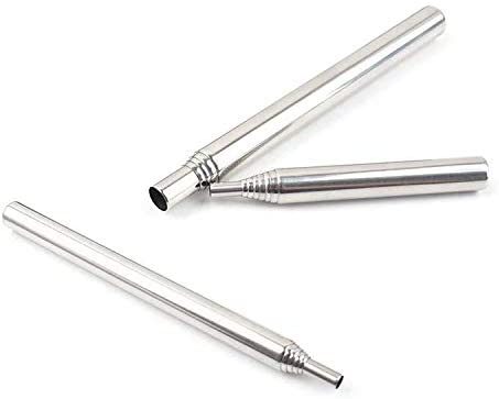 Mixed 3 Pack JISTL Fire Bellows by Mouth Blow Fire Tube Outdoor Gear Collapsible Stainless Steel Campfire fire Pot Tool Builds Fire by Blasting Air