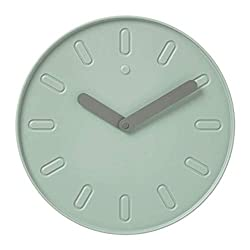 IKEA Slipsten Wall Clock Green 803.587.74 Size 13 ¾