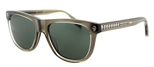 Alexander McQueen - AM0023S, Wayfarer, acetate, men, TAUPE/GREY(003 E), - Mcqueen Alexander Sunglasses Mens