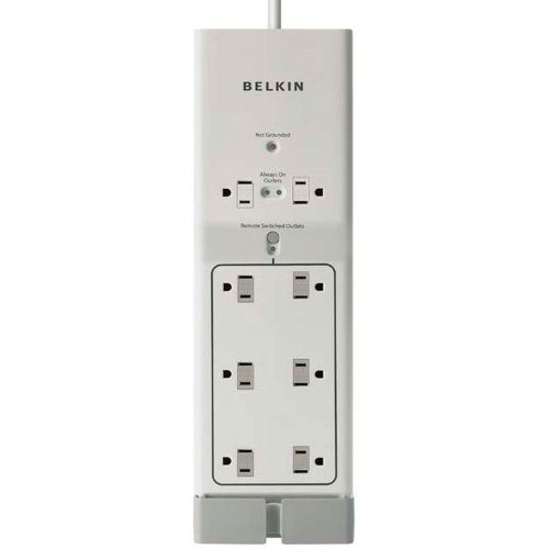 Belkin F7C01008 Conserve Switch Surge Protector with Remote (8 Outlet Conserve Surge Protector With Remote Switch)