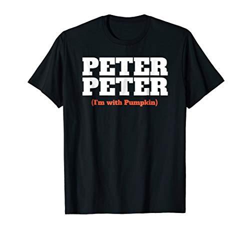 Mens Funny Halloween Shirt For Men Peter Peter Couples Costume