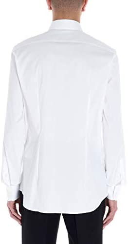 Prada Fashion Man UCM608F62F0009 White Elastane Shirt   Spring Summer 20