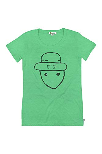Women's Funny Leprechaun Sketch T-Shirt for St. Patrick's