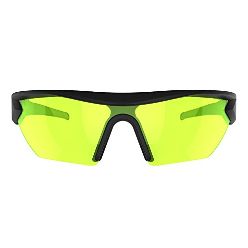 Battle Vision Night Vision Glasses by Atomic Beam, Anti Glare Glasses for Night Driving, Yellow Driving Glasses