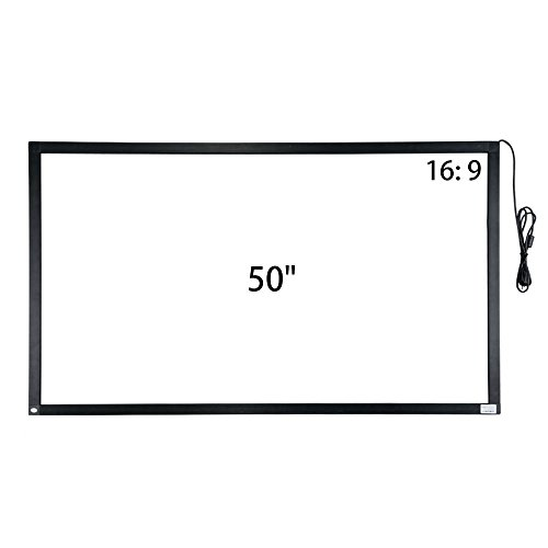 Multi Touch Interface - 50 inch 10 points IR touch frame infrared touch screen overlay without glass usb interface free-drive for TV