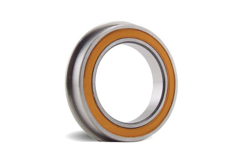 8x14x4 mm Flanged Stainless Steel Ceramic Hybrid ABEC #7 Bearing (Off Road) - Replaces Team Losi ()